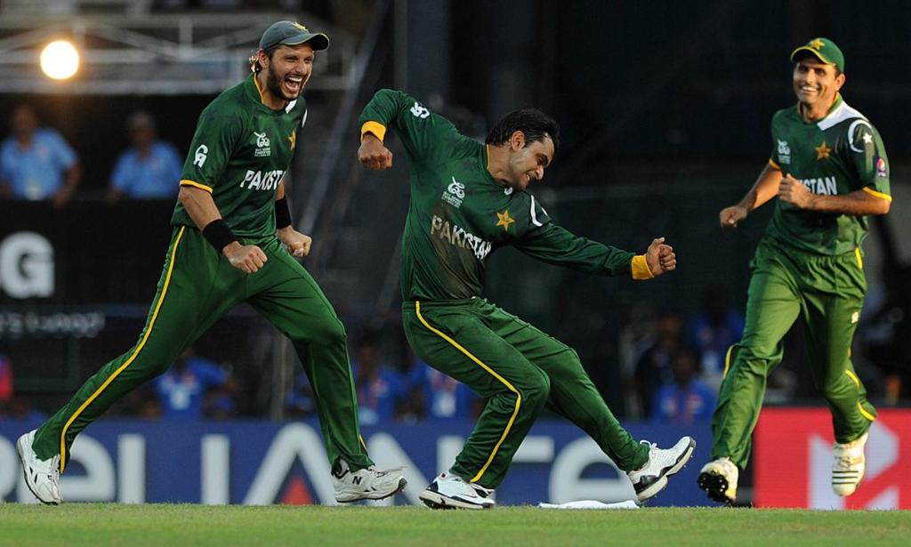 Pakistan win the Match