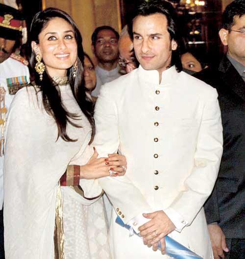 Saif-Kareena on wedding day