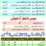 T20 World Cup 2012 Semi-Final – Schedule And Detail