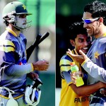 umar gul and muhammad hafeez 150x150 Shahid Afridi World Record fastest ODI 100