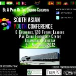 South Asian youth conference SAYC 2012 Islamabad