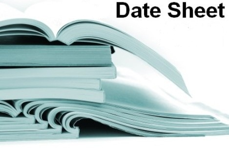 Matric-Date-Sheet-2013