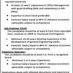 Office Secretary, Sub Engineer (Civil) Telephone Operator Jobs 2012