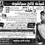 Cadet College Admissions in sailkot 2014 e1441711484553 150x150 LUMS Online Admissions 2015 16 Entry Test Merit List