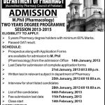 Government College for Women University M.Phil  150x150 UOS Lahore Admissions 2016 Entry Test Result