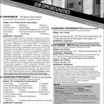 University of Gujrat Hafiz Hayat Campus Jobs 2013 150x150 Foundation University Islamabad Medical Faculty Required