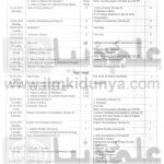 Bise DG Khan Board F.A Fsc 11th 12th Class Date Sheet 2016