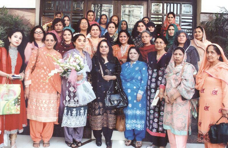 Queen Mary College, Lahore Women Professors Group Photo