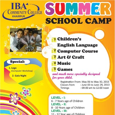 IBA School Summer Camp 2013