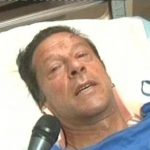 PTI Chairman Imran Khan recovering in hospital after rally fall