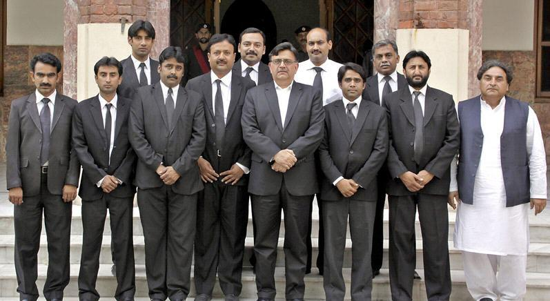 Pakpattan Bar Group Photo with Cheif Justice Lahore
