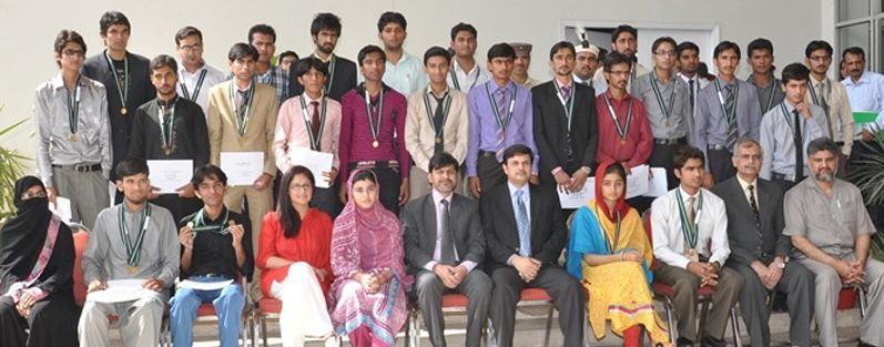 Punjab Board of Technical Education Students Group Photo Allama Iqbal Open University (AIOU) Admissions NTS Test 2013