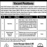 Punjab Halal Development Agency Vacant Positions 2016