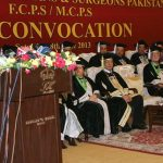 College of physicians & surgeons Pakistan 47th Convocation 2013
