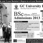 GC University Lahore Bsc Hons Admission 150x150 Army Burn Hall College for Boys Abbottabad Admissions 2014