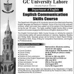 English Communication Skills Course in Lahore