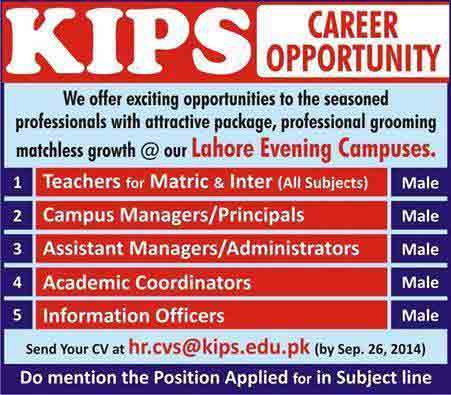Kips-School-Jobs-2014