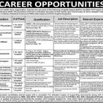 National Health Care Organization Jobs 2013 150x150 University of Sargodha Women Campus Faisalabad Jobs 2015