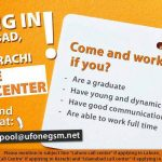 Call Center Jobs in Islamabad, Lahore, Karachi by Ufone Telecom