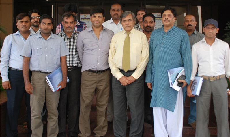 University of Gujrat Group Photo