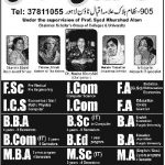 Scholars college for women Admissions 2015-16
