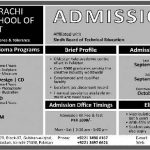 Karachi School of Art Admission 150x150 Girls Cadet College Abbottabad Admissions 2016