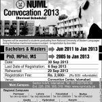 Numl Convocation Revised 150x150 Beaconhouse National University BNU 8th Convocation 2013