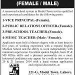 Jobs in Aims high School System Teachers Required