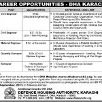 DHA Karachi Required Engineers 150x150 Career Opportunities in Cadet College Ghotki Pakistan