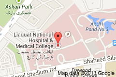 Liaquat National Hospital & Medical College Admission in MBBS