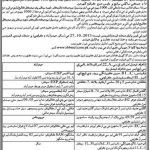 Shaheed Mohtarma Benazir Bhutto Medical College Admissions 2014