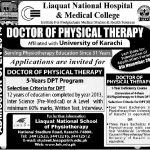 Doctor of physical Therapy Admission 2013 150x150 Dow University of Health Sciences Karachi Admissions 2015