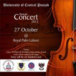 University of Central Punjab UCP Annual Concert 2013