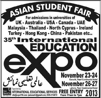 Asian Student Fair for Admissions Study Abroad
