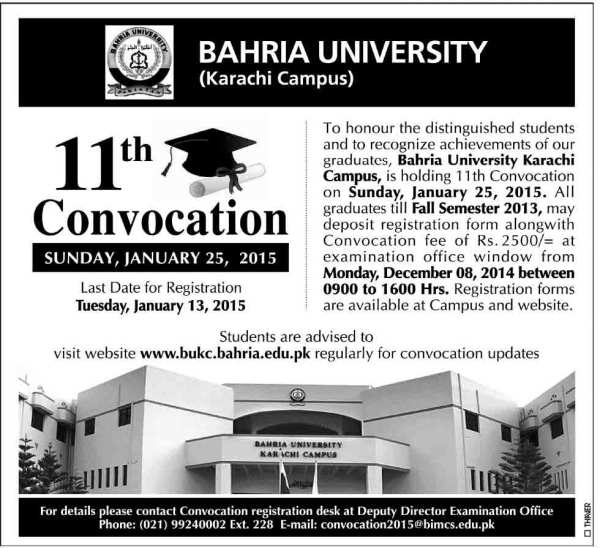 Bahria-University-11th-convocation-2015