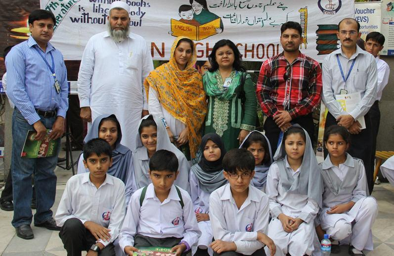 Bushra Saeed Khan Group Photo