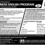 Business English Admissions in Lahore 150x150 Girls Cadet College Abbottabad Admissions 2016