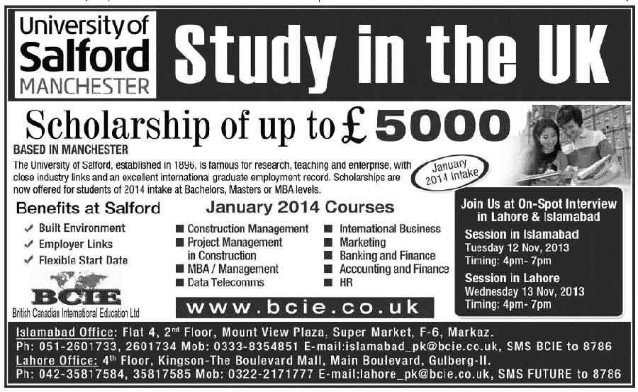 Study-in-UK-Salford-University-2014