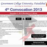 gcuf 4th convocation 2013 150x150 GC University Faisalabad MA,MSC,MBA Morning 1st Merit List 2013