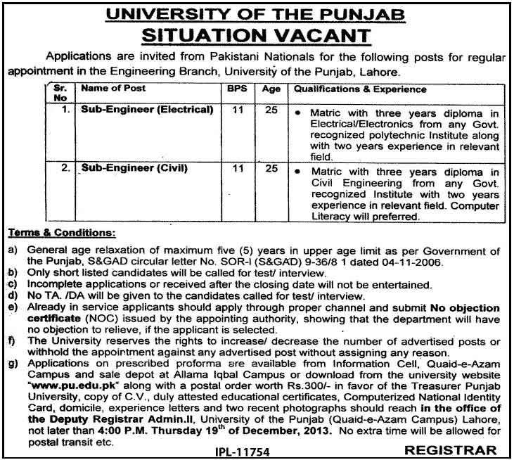 PU Jobs in Lahore Engineering Branch BOK opens Islamic branch at Main Ravi Road Lahore