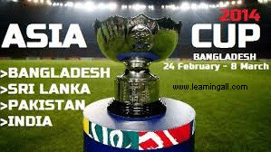 Asia Cup Cricket 2016 Schedule Matches Dates Time Table