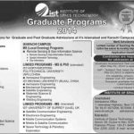 Institute of Space Technology Graduate Admissions 2014