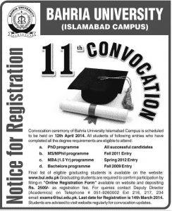 Bahria-University-Convocation-2014