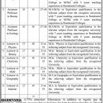 Job Opportunities in Balochistan Residential College Turbat
