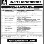 Job Opportunities in Qavi Engineering Private Limited 2014