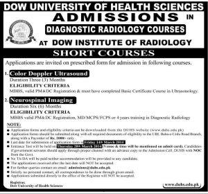 Dow-University-Short-Courses-2014
