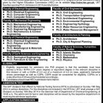 UET Lahore Admissions in PhD Programs 2016