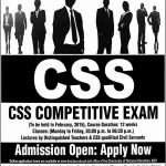 CSS Competitive Exms 2014 150x150 FPSC CSS Competitive Exams Schedule & Detail 2014
