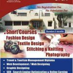 Fashion and Textile Short Courses Admissions in NCMD Lahore