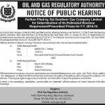 Sui Southern Gas Company Jobs 2014 Public Hearing Karachi and Quetta